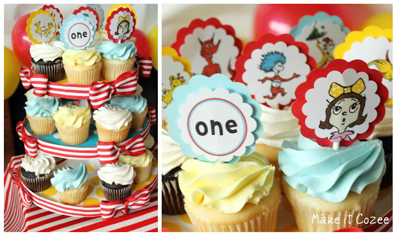 One Fish Two Fish Cupcakes