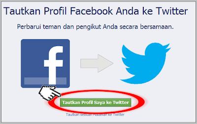 Cara Hubungkan Facebook ke Twitter | VanBumen