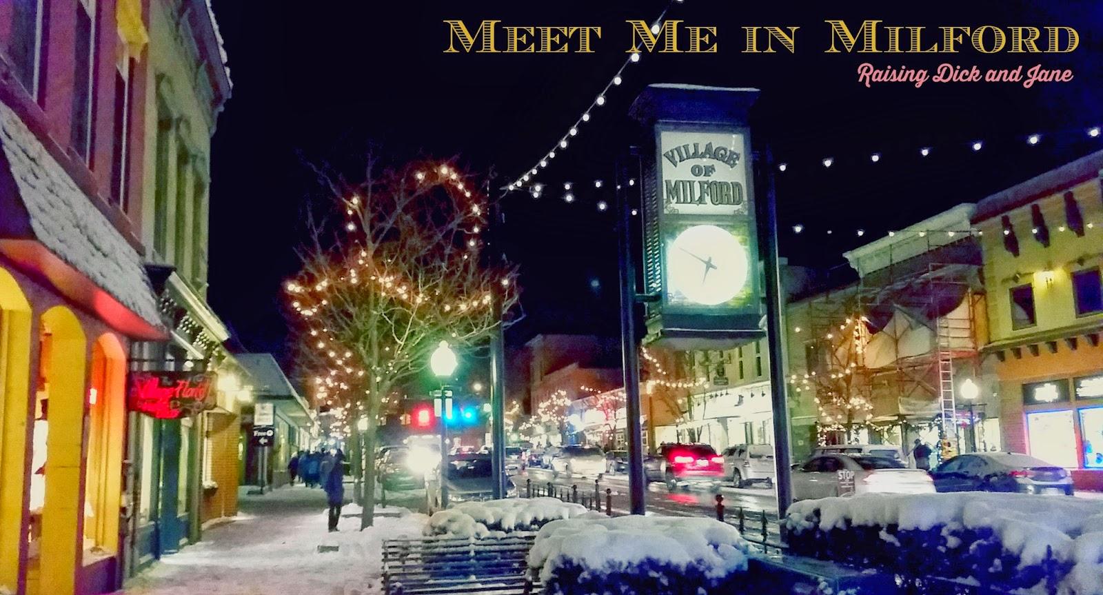 #MeetMeInMilford Holiday