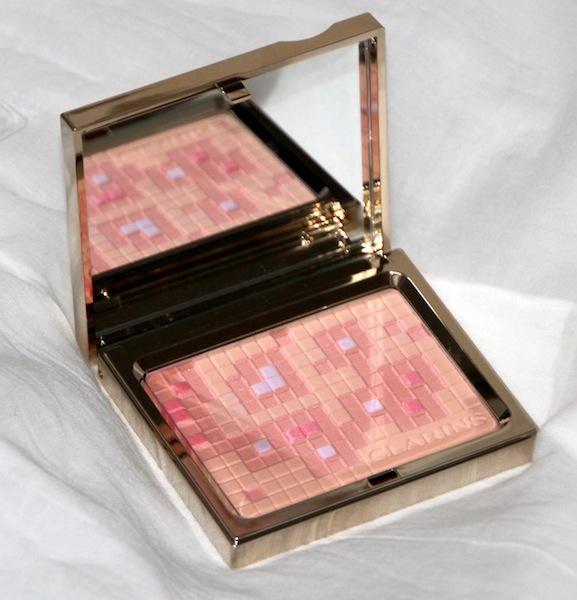 Clarins Poudre Teint Eclat 3D Test Swatch Avis Blog