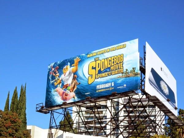SpongeBob Movie 2015 billboard