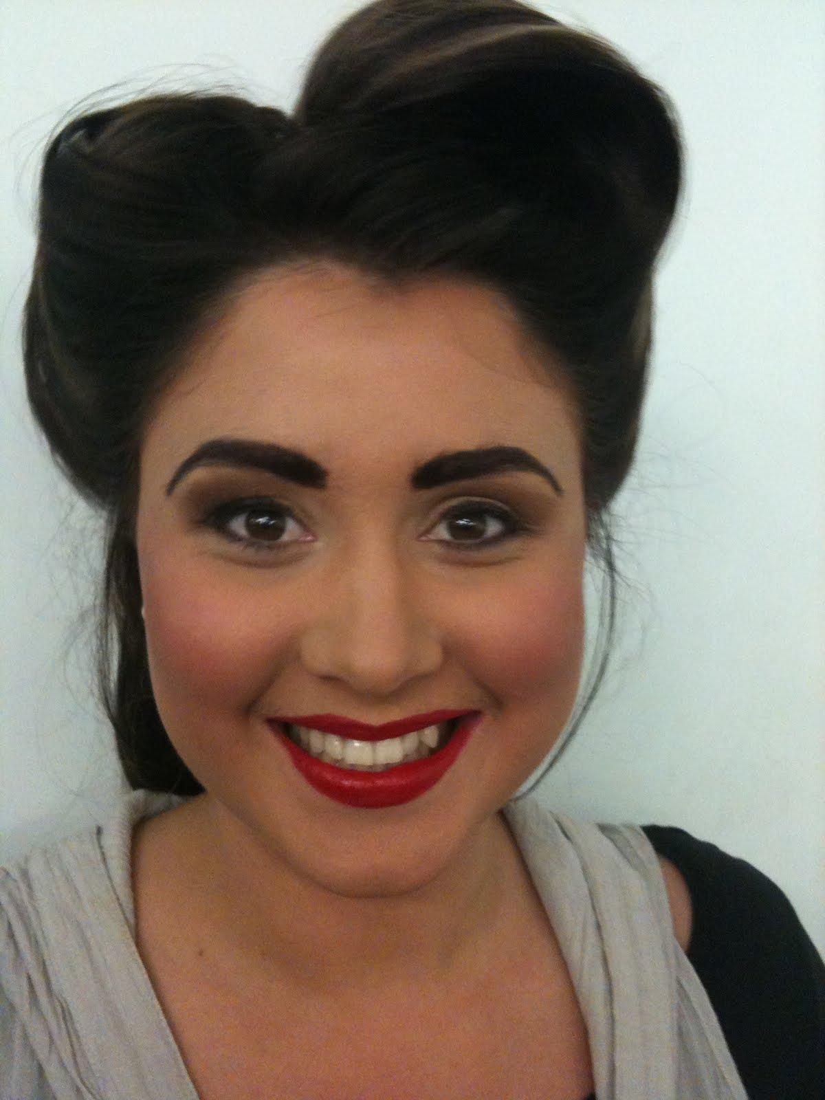 Rickie Lee Fraraccio Makeup Artist 1940s Makeup Look - 1940-makeup