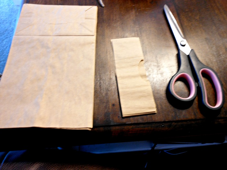 Vintage, Paint and more... paper lunch bag crafting
