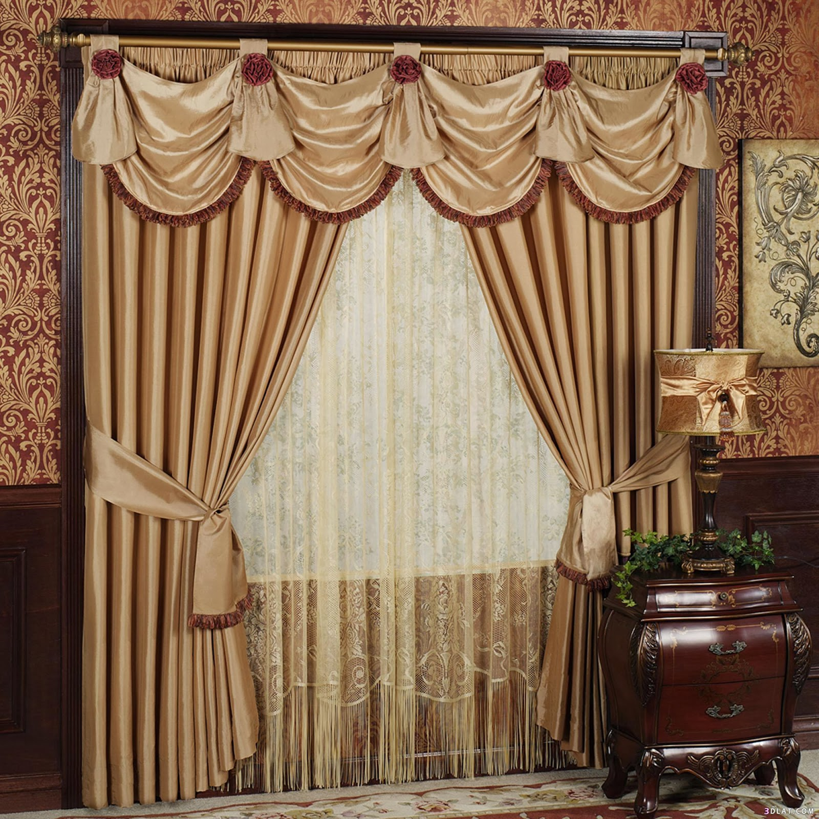 window curtain design ideas drapery design for bay window room curtains decorating ideas living room curtain - Drapery Design Ideas