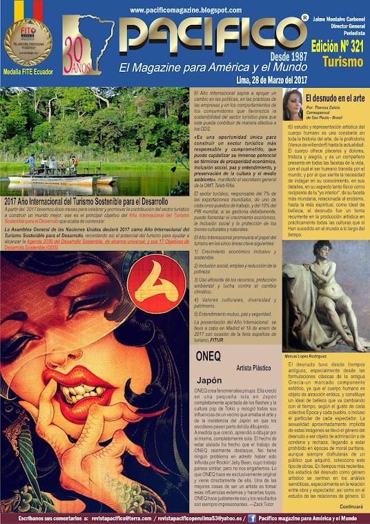 Revista Pacifico Nº 321 Turismo