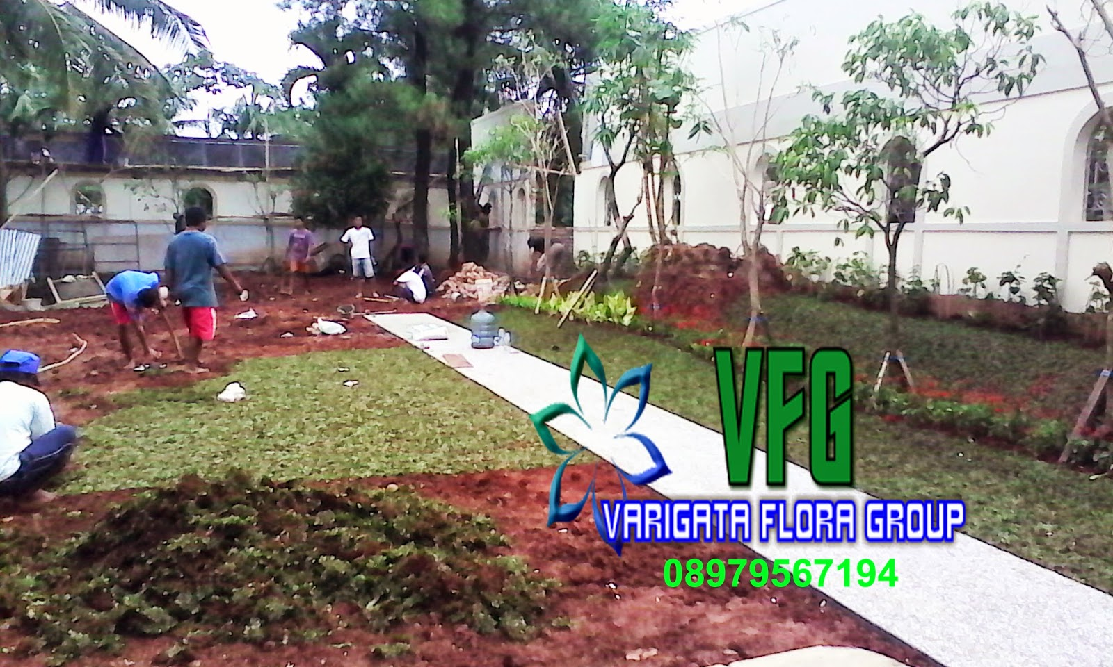 SERVICES OF GARDEN VARIGATA FLORA GROUP LANDSCAPE