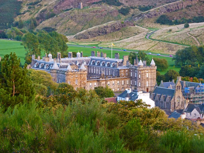 Palace of Holyroodhouse, Caton Hill, visit Edinburgh