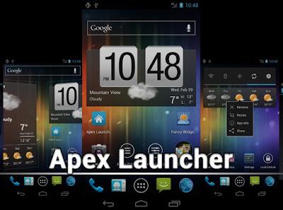 Download Apex Launcher Beta v0.6 APK FULL