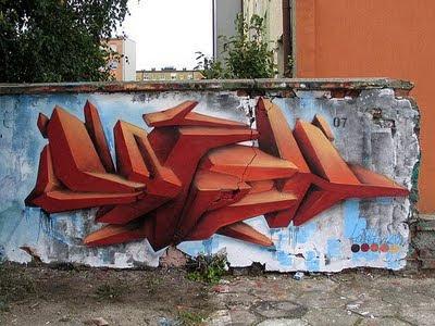 realistic-3D-graffiti-creator-arrow-design