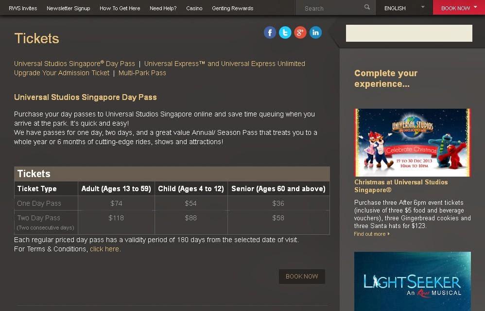 Jari Manis Travel List Tiket Murah Ke Universal Studio