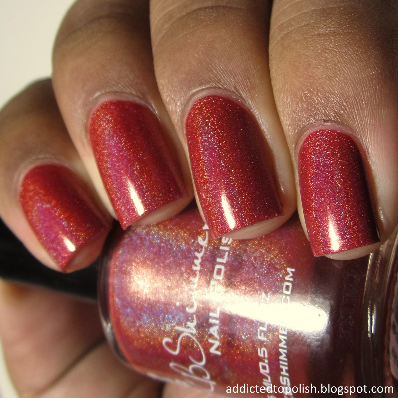 KBShimmer Men Are From Marsala Pantone 2015