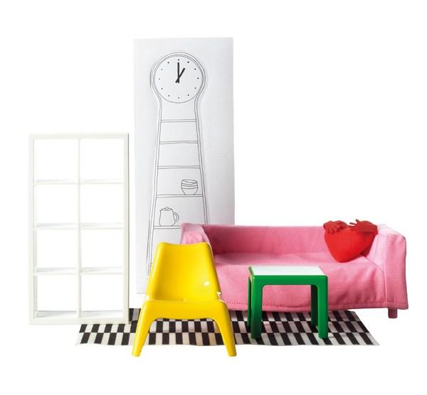 Muebles a escala de Ikea