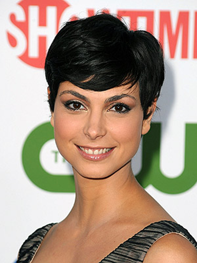 Morena Baccarin Fresh Brunette Hairstyles