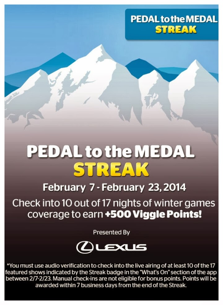 Pedal to the Medal, Viggle, Viggle Streak, Viggle Quest, Viggle Mom