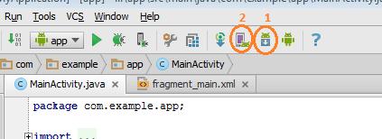 Andoid Studio SDK Manager Seçimi