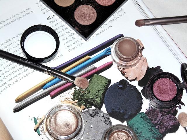 eyeshadow, mac, charlotte tilbury, topshop, maybelline