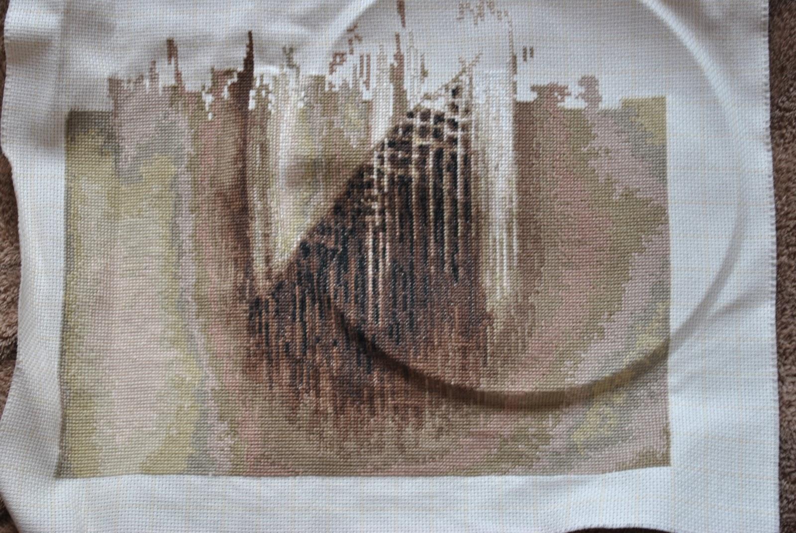 Вышивка испанка с шалью 4