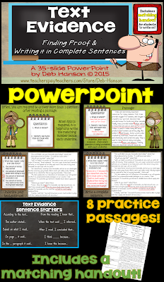 https://www.teacherspayteachers.com/Product/Text-Evidence-PowerPoint-2132106