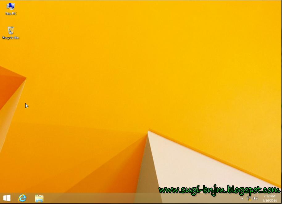 Windows 8.1 ini, tidak jauh berbeda juga dengan Windows sebelumnya