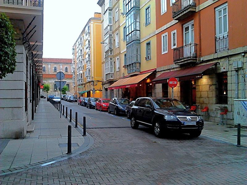 Calle de Pedrueca en Santander