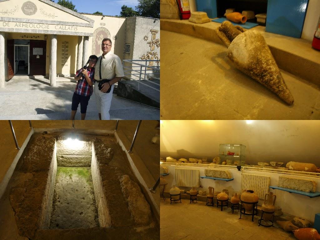 activităţi în concediul din Saturn 2014 - Muzeul de Arheologie Callatis