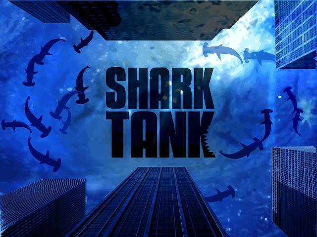 shark tank key art poster