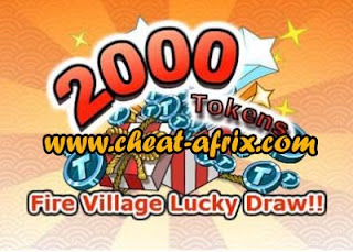 Lucky Draw 2000 TOKEN Ninja Saga
