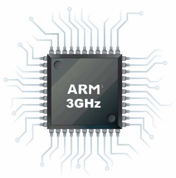 ARM-Based 3 GHz Processor
