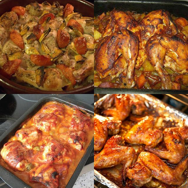 طريقة عمل طاجن دجاج
