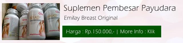 Suplemen Pembesar Payudara Emilay Breast