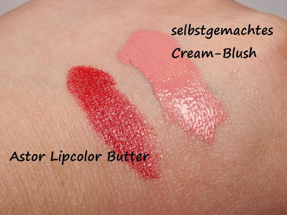 Cream-Blush DIY - Notfall Nr. 1: Kein passender Blush - Das Ergebnis