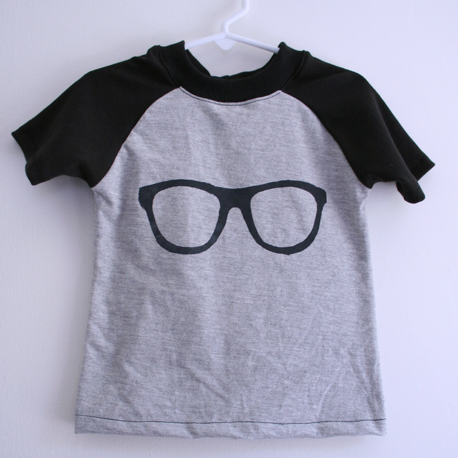 Eyeglasses Tee by Tangible Pursuits for Embellish is for Boys