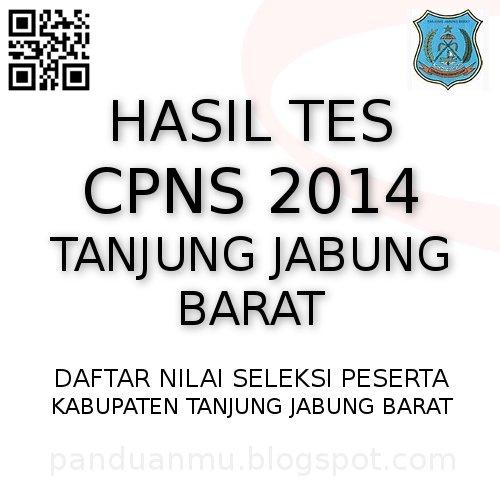 hasil tes CPNS Tanjung Jabung Barat