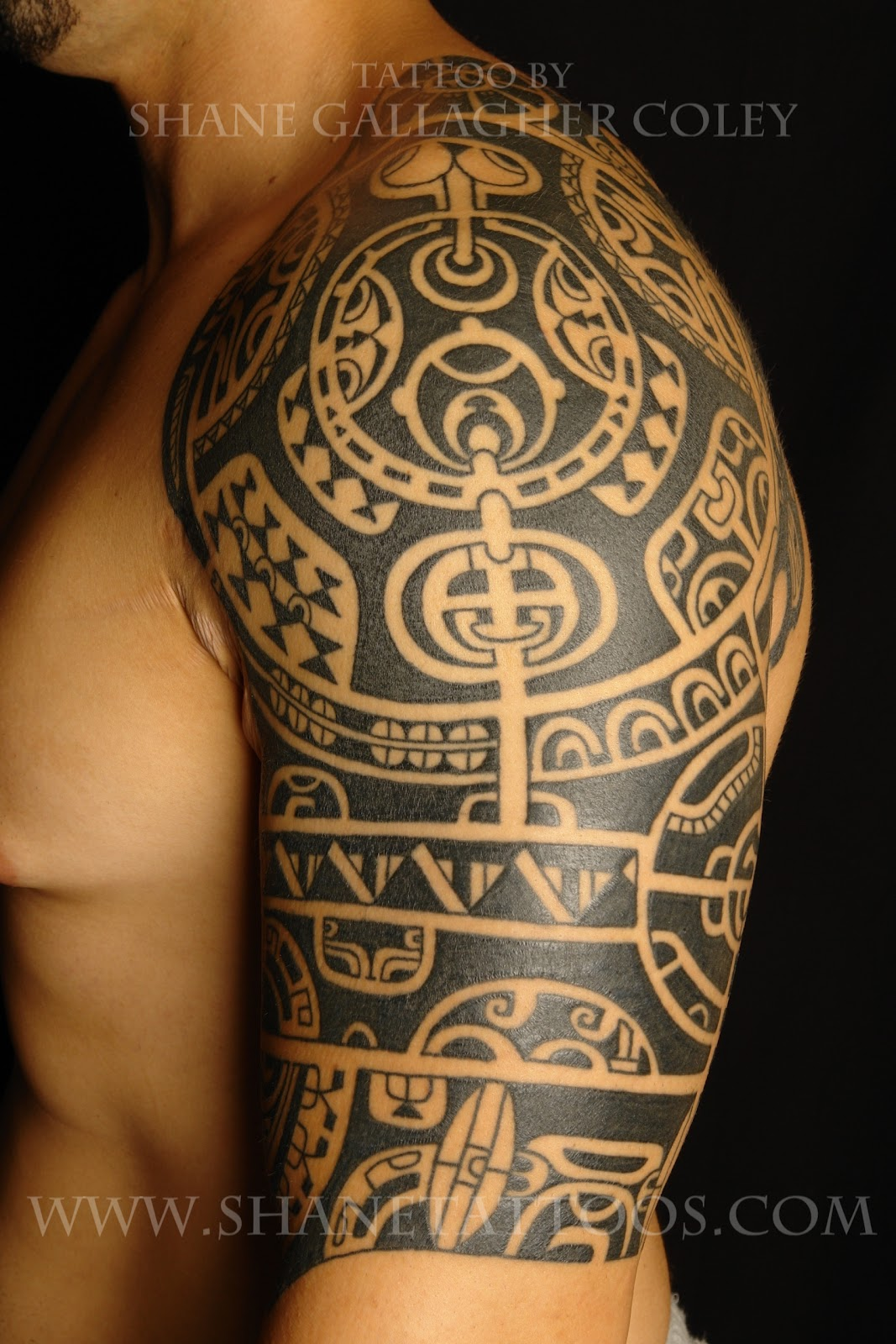 POLYNESIAN TATTOO: Rendition Of Dwayne (The Rock) Johnson's tattoo
