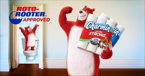 Charmin Roto-Rooter approved
