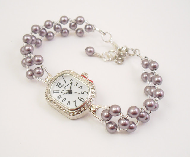 Pearl Bracelet Watches3