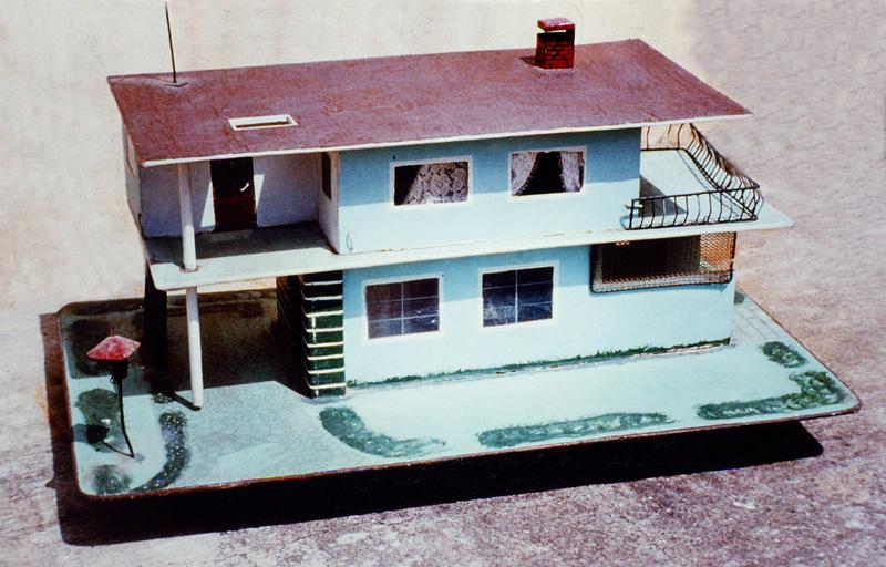 Maqueta De Una Casa De Palitos | apexwallpapers.com