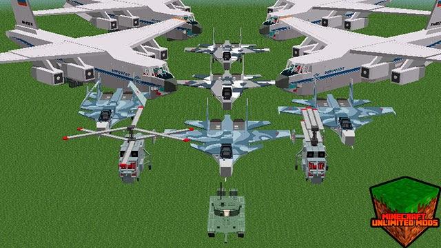 Flan's Mod war vehícles