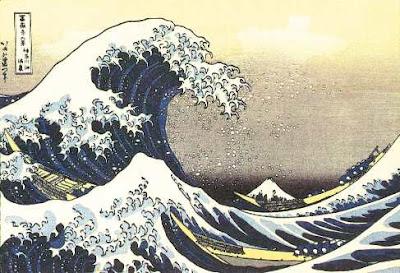 Hiroshige Utagawa nell'Ukyio-e delle Onde