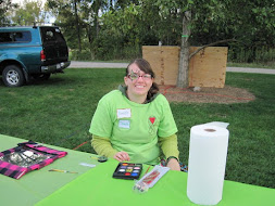 Danielle at the Illinois Lyme Walk