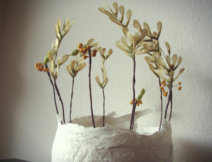 Eco wedding design diy con bacche semi e baccelli for Decorazioni da appendere al soffitto