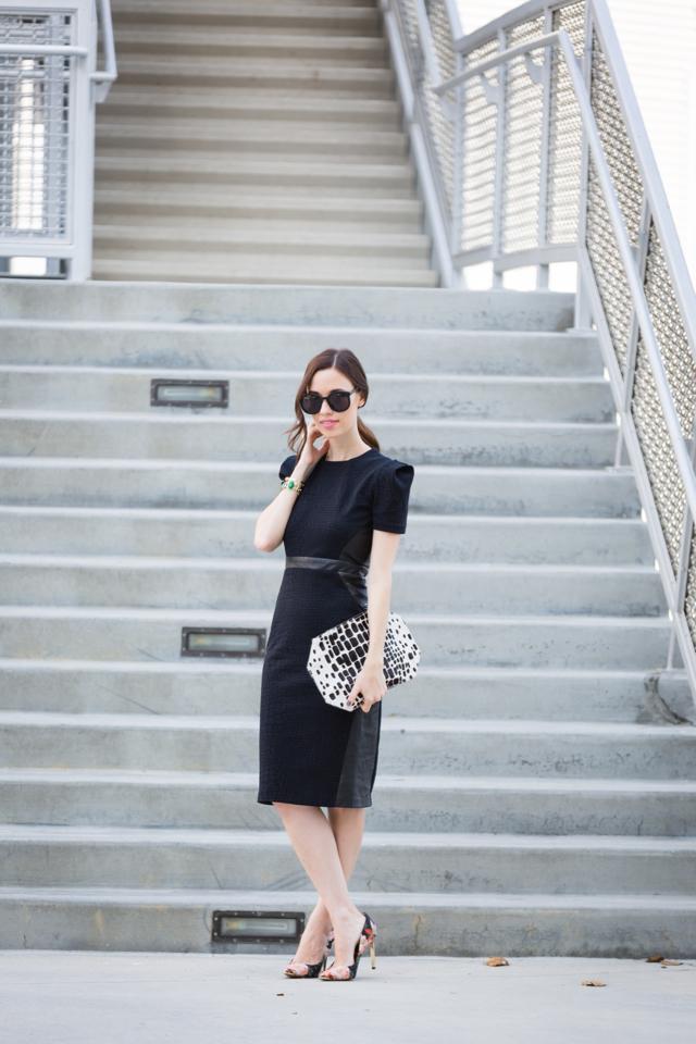 structured black dress via M Loves M @marmar
