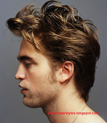 Robert Pattinson Hairstyle - Cool Messy Hairstyles