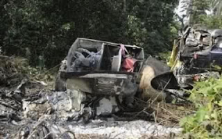 Naval Crash: Nigerian Navy Air Squadron (The Evil Forest), A Disaster Says Naval Source