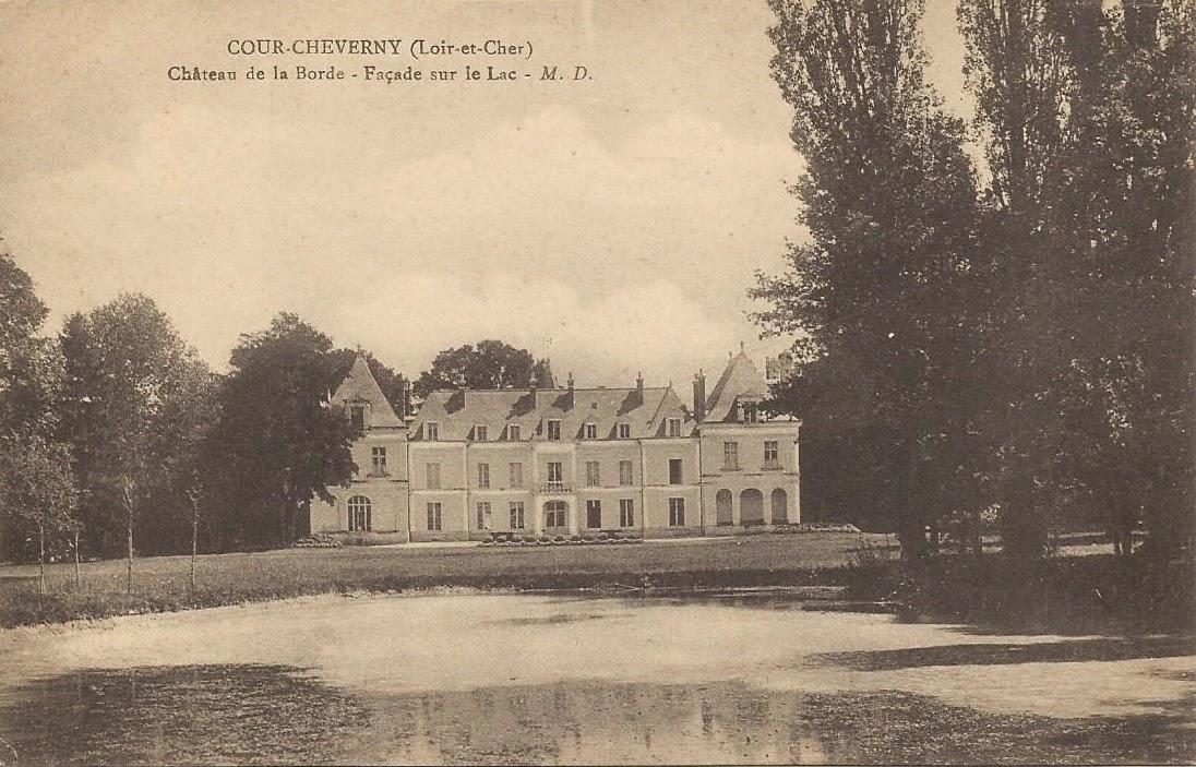 Château de La Borde - Cour-Cheverny
