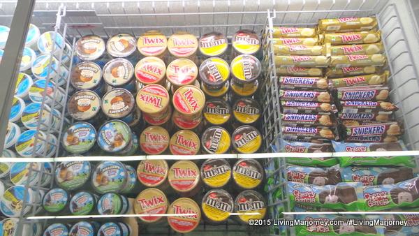 Twix and Hershey's Ice Cream