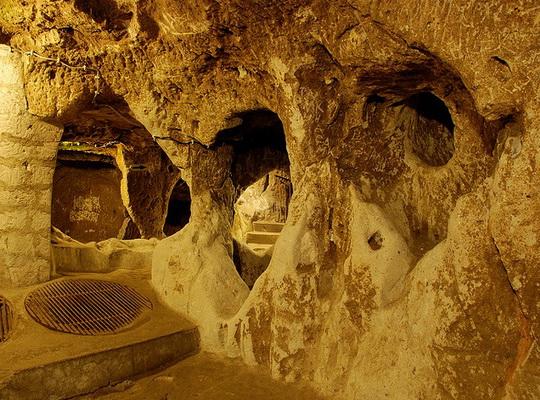 Underground Derinkuyu turkey  Boutique Tourism