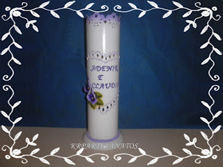 LUMINARIA EM PVC CASAL APAGADA