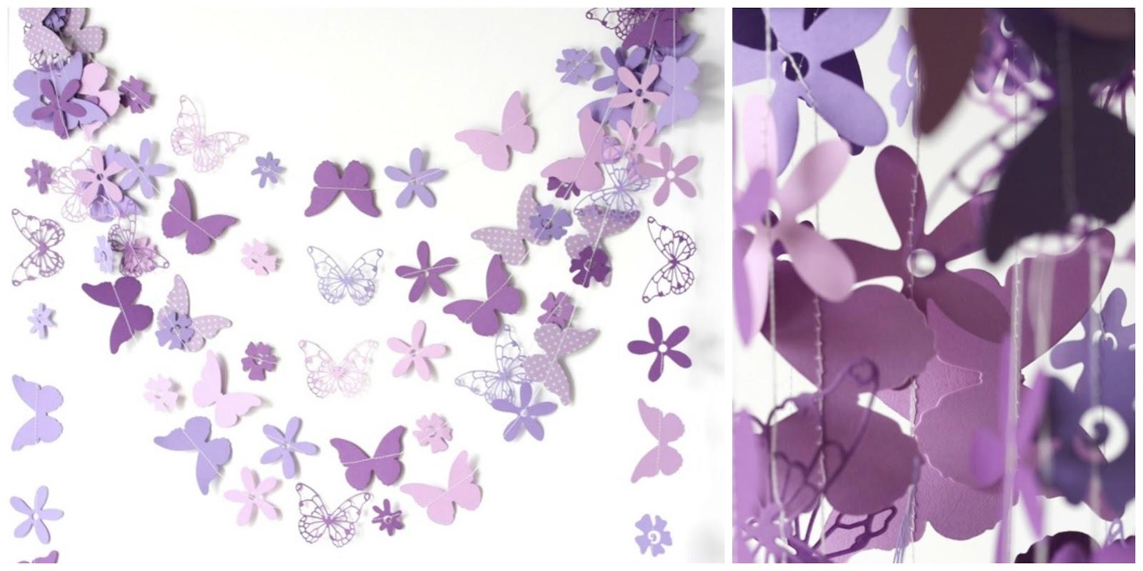 5 ideas f ciles para decorar una comuni n en malva - Papel para decorar ...