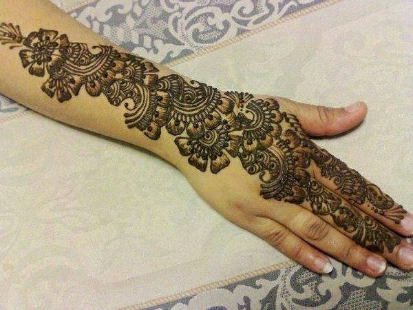 Mehndi Designs For Hands Images Free Download : Bridal mehndi designs for hand